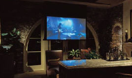Lutron home theatre & lighting control